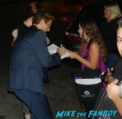 Scott Michael Foster Emmy Party signing autographs fan photo rare   2