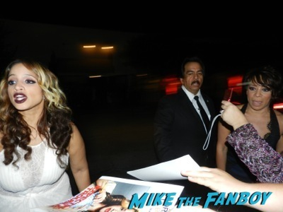 orange is the new black stars signing autographs Emmy Party signing autographs fan photo rare   25