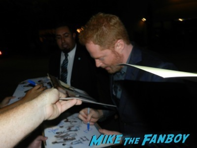 Jessie Tyler Ferguson Emmy Party signing autographs fan photo rare   30