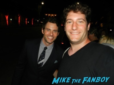 james Marsden Emmy Party signing autographs fan photo rare   36