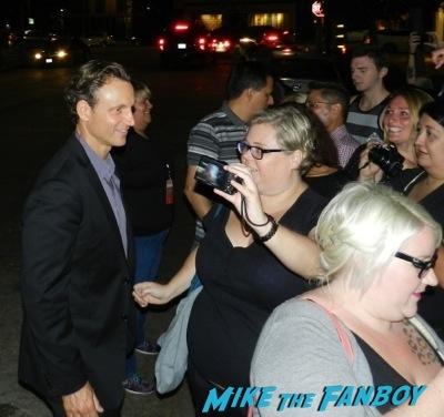 Tony Goldwyn  Emmy Party signing autographs fan photo rare   42