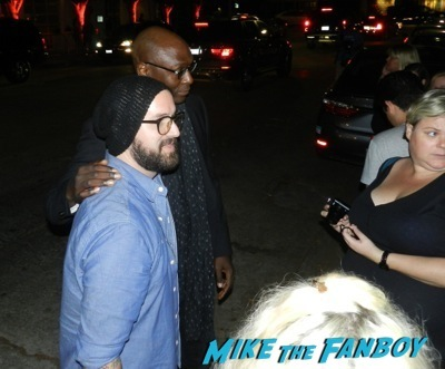 Lance Reddick Emmy Party signing autographs fan photo rare   5