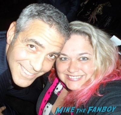 george clooney Facts of life star selfie fan photo rare  2