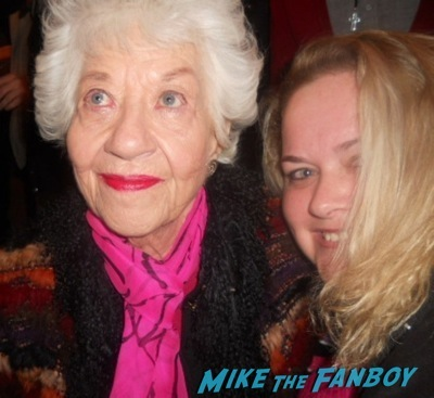 charlotte rae Facts of life star selfie fan photo rare 5