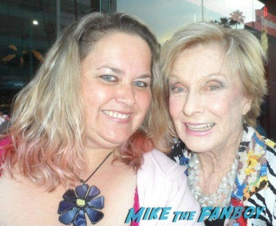cloris leachman Facts of life star selfie fan photo rare  6