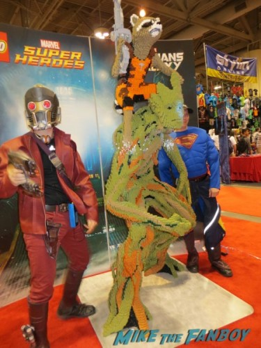 Star Lord with Lego Groot and Rocket