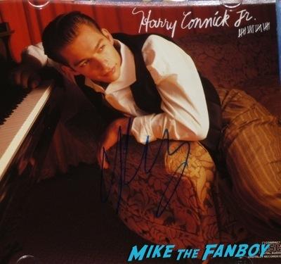 Harry Connick Jr. Signed autograph cd photo rare  1