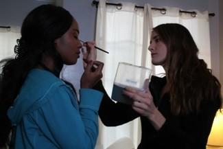 Alisha Peats and Jasmine Hester