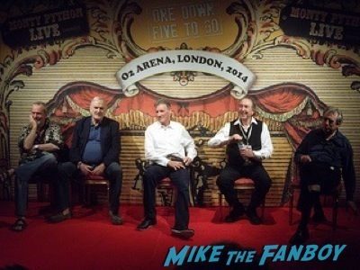 Monty Python meet and greet london O2 arena 9
