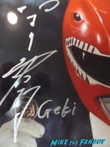 Tyranno Ranger 02 2 Power Morphicon convention pasadena CA meeting Austin St john fan photo selfie   8