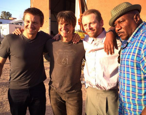 mission impossible 5 sneak peak behind the scenes photo