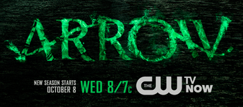 Arrow season three logo promo poster