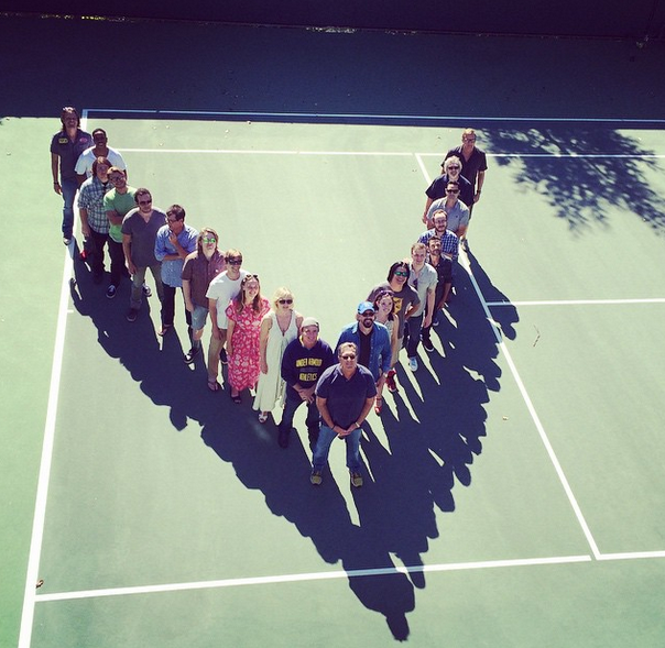 The Mighty Ducks reunion flying v photo d2 20th anniversary
