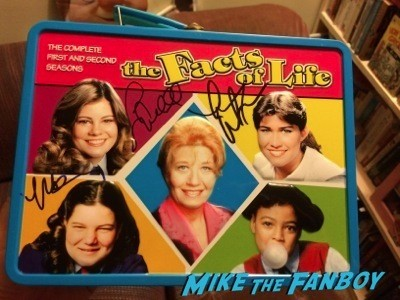 The Facts of Life signed autograph lunchbox rare nancy mckeon