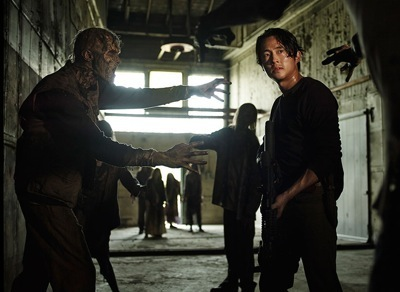The Walking Dead season 5 cast photo norman reedus andrew lincoln  9