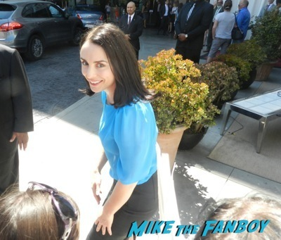 Laura Fraser  signing autographs celebrities signing autographs emmy awards parties autograph signature 1