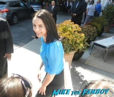 Laura Fraser  signing autographs celebrities signing autographs emmy awards parties autograph signature 1