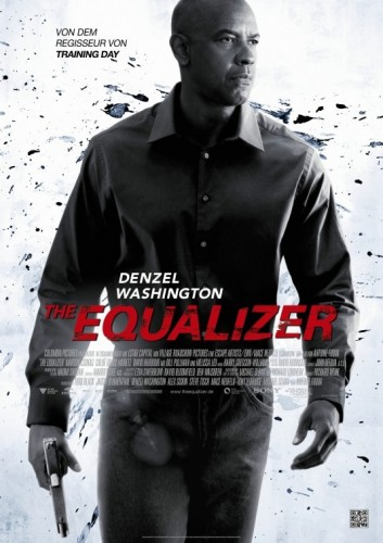 equalizer movie poster rare