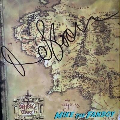 orlando bloom autograph signed rare