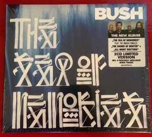 Bush band on the run signed cd sleeve rare