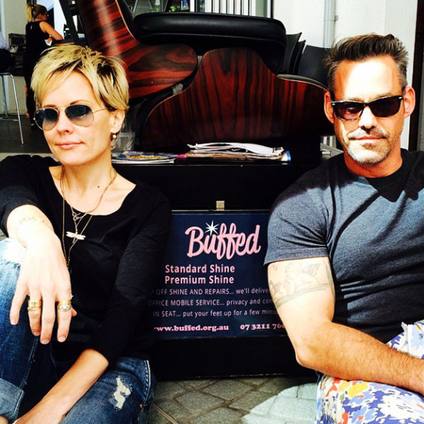Emma Caulfield nicholas brendon selfie reunion buffy