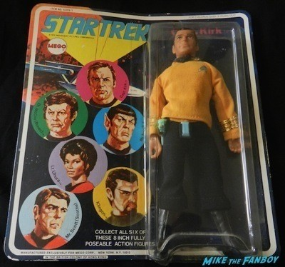 star trek mego captain kirk original action figure   1