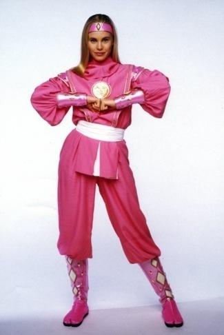 Kat Hillard pink power ranger