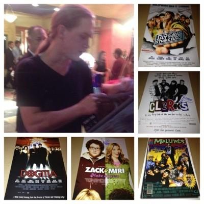 jason mewes signing autographs tusk movie premiere kevin smith signing autographs jason mewes  8