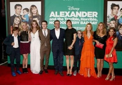 "The World Premiere of Disney's ""Alexander and the Terrible, Horrible, No Good, Very Bad Day"" - Red Carpet"