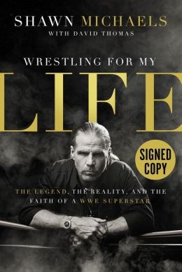wrestling for my life signed book
