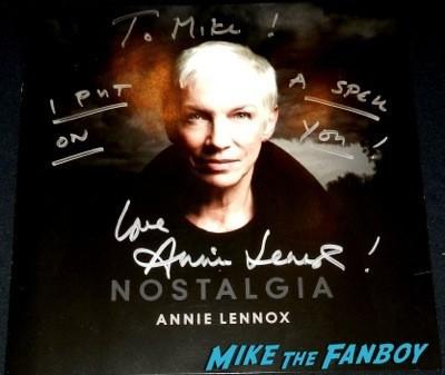 Annie Lennox signed autograph nostalgia lp rare  Amoeba Music lp signing autograph 73