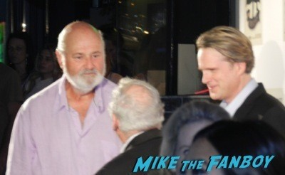 Cary elwes book signing launch party mel brook rob reiner signing autographs  3
