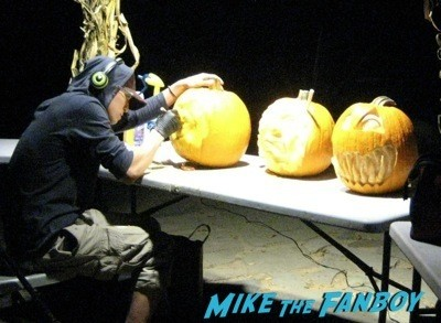 Descanso Garden Rise of the Jack O'lanterns carved pumpkins the walking dead  1
