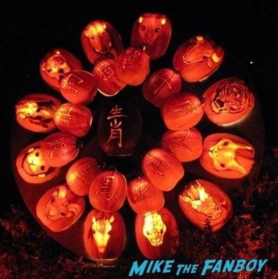 Descanso Garden Rise of the Jack O'lanterns carved pumpkins the walking dead  114