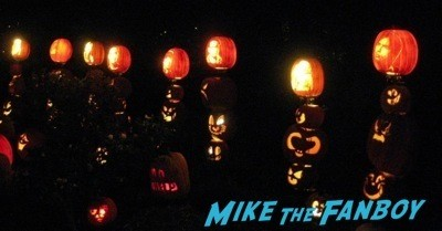 Descanso Garden Rise of the Jack O'lanterns carved pumpkins the walking dead  115