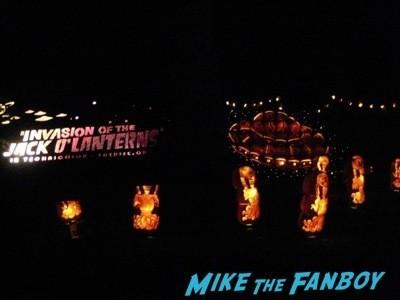 Descanso Garden Rise of the Jack O'lanterns carved pumpkins the walking dead  12