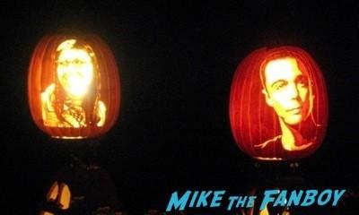 Descanso Garden Rise of the Jack O'lanterns carved pumpkins the walking dead  120