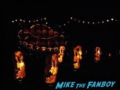 Descanso Garden Rise of the Jack O'lanterns carved pumpkins the walking dead  13