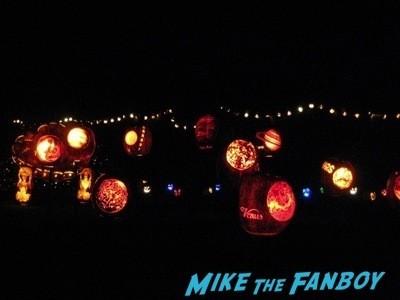 Descanso Garden Rise of the Jack O'lanterns carved pumpkins the walking dead  15