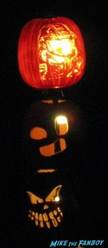 Descanso Garden Rise of the Jack O'lanterns carved pumpkins the walking dead  17