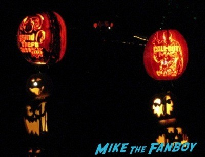 Descanso Garden Rise of the Jack O'lanterns carved pumpkins the walking dead  18