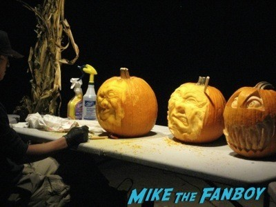 Descanso Garden Rise of the Jack O'lanterns carved pumpkins the walking dead  2