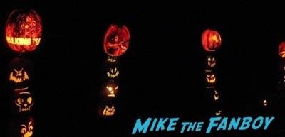 Descanso Garden Rise of the Jack O'lanterns carved pumpkins the walking dead  28