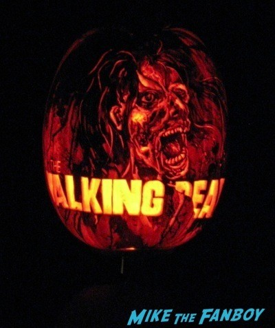 Descanso Garden Rise of the Jack O'lanterns carved pumpkins the walking dead 28
