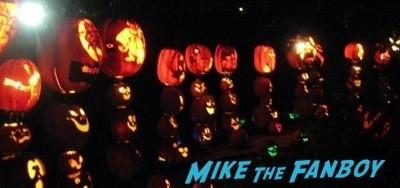 Descanso Garden Rise of the Jack O'lanterns carved pumpkins the walking dead  44