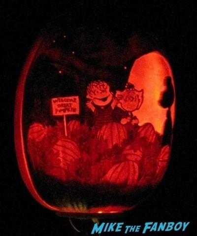 Descanso Garden Rise of the Jack O'lanterns carved pumpkins the walking dead  51