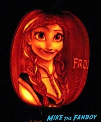 Descanso Garden Rise of the Jack O'lanterns carved pumpkins the walking dead  52