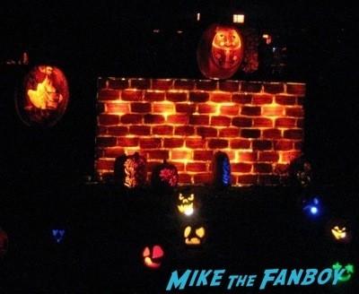 Descanso Garden Rise of the Jack O'lanterns carved pumpkins the walking dead  57