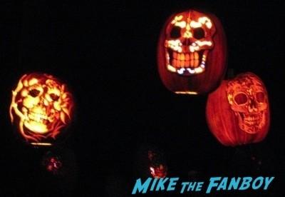 Descanso Garden Rise of the Jack O'lanterns carved pumpkins the walking dead  92