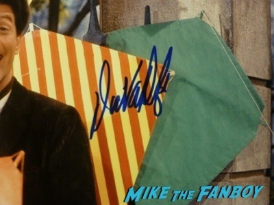 Dick Van Dyke signed autograph rare fan photo signing autographs now 2014  2